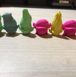 Trolls Erasers preț pe bucată