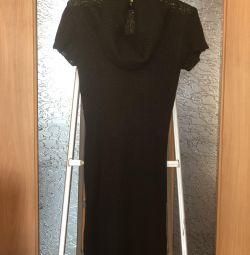 Платье - туника из мягкой шерсти