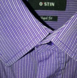 Men's shirt OSTIN 54 р. with long sleeve
