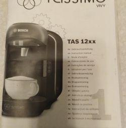TASSIMO NEW capsule coffee machine