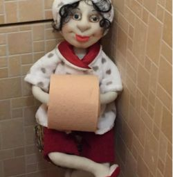 Doll Holder Spare Toilet Roll