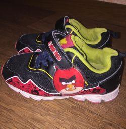 Erkek çocuk için Sneakers Angry Birds
