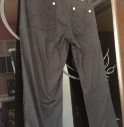 Pants with paetkas