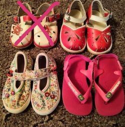 Sandale, șisturi