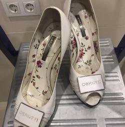 Туфли кожаные Cerutti р-р 38