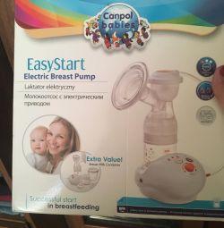 Elektrikli göğüs pompası