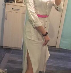 ZARA платье-халат летние 40-44