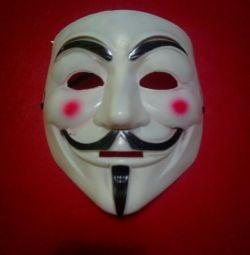 Mask Guy Fox, Anonymus, Vendetta
