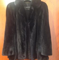 Fur coat mink