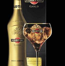 Koleksiyon şişe Martini Gold Dolce & Gabbana