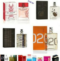 Perfume testers and copies