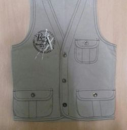 Vest for the boy rr: 122-128