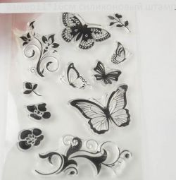 silicone stamps 11-16 cm