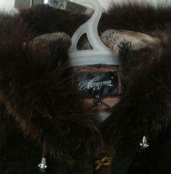 Sheepskin coat + 🎁