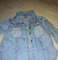Jeans shirt 86 cm