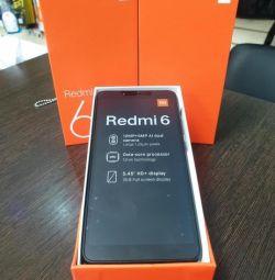 Xiaomi Redmi 6 3 / 32GB Global (New, Warranty)