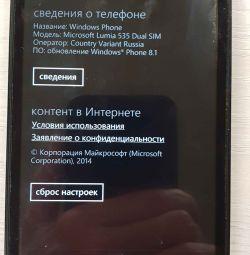 Smartphone Microsoft Lumia 535 Dual Sim
