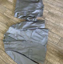 Μπουφάν κοστούμι και παντελόνι