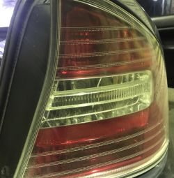 Rear headlamp