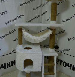 Kogtetochka with a house