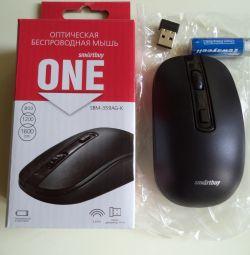 Ποντίκι ασύρματο ONE SBM-359AG-K μαύρο SMARTBUY