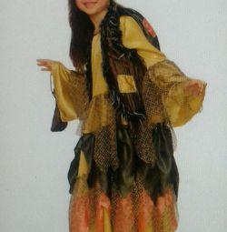 ? Carnival costume costume Baba Yaga Bone leg