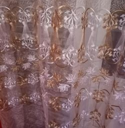 Beautiful tulle in perfect condition 4.8m