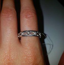 Ring. Soviet silver 925 test