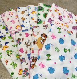 Diaper flannel 90x120