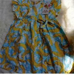 New children's summer dress 92-98
