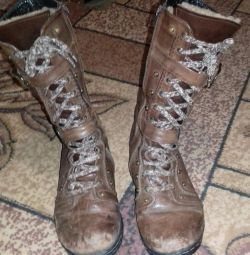 Winter boots, tsigeyka, r. 38