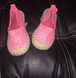 Papuci HM 13,5 cm branț