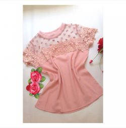 Blouse new short sleeve