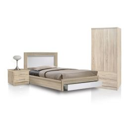 SET STUDIO 3TMX BED-BEDROOM-WARDROBE 2-FURNITURE
