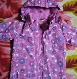 Jacket new demi-season children's, river 34, growth 134