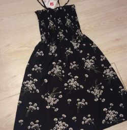 Новое чёрное платье 42 размер