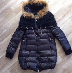 Nouă jachetă naturală cu un guler frumos