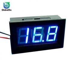 Digital Voltmeter 30-500 V Blue