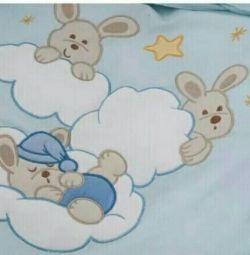 Yatakta yatak örtüleri