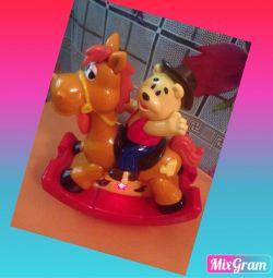 Winnie the pooh στο άλογο