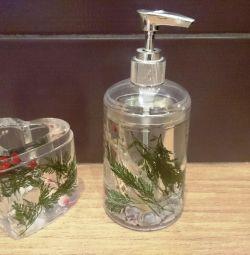 Новый набор для ванной комнаты