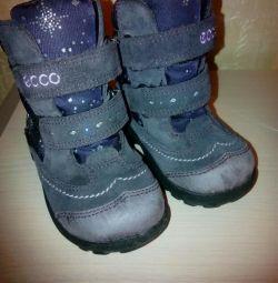Children's boots winter.