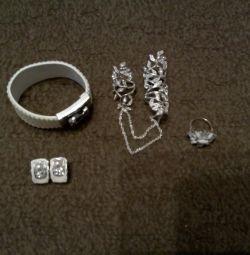 κοσμήματα + δώρο (κατά την αγορά)