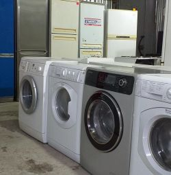Large selection of home appliances