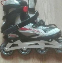 Roller skates size 43 new.