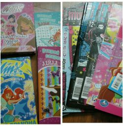 Журнали та книги для дівчинки