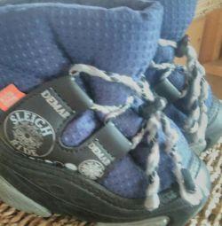Boots iarnă pentru râul copil 20-21