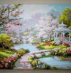 Oil painting 50 * 40cm