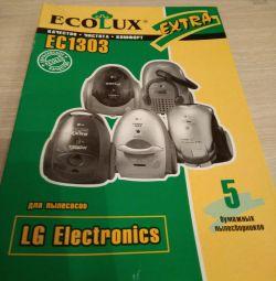 Пылесборники для пылесоса LG