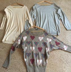 Sweaters elongated